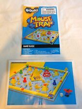 U BUILD MOUSE TRAP Replacement Game Parts RULES AND BUILDING INSTRUCTIONS Guides