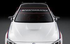 BMW M Performance Frontscheiben Aufkleber XL illest dapper jdm Heck tuning power