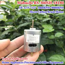 Mabuchi RS-360SH DC 4.5V~12V 9000RPM Micro Carbon Brush DC Motor for DIY Parts