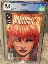 Harbinger 7 Lupacchino Variant CGC 9.6 White Pages (2012) Valiant VEI HTF Movie