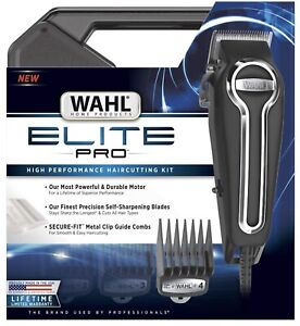 Wahl Elite Pro High Performance Hair Clipper Kit 79602 FREE SHIPPING In Hand