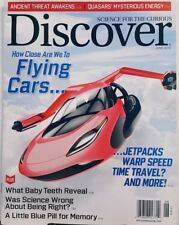 Discover June 2018 Flying Cars Jetpacks Warp Speed Time Travel FREE SHIPPING CB