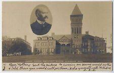 1906 ASHBURNHAM MA Cushing Academy Science Bldg. REAL PHOTO postcard RPPC