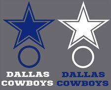 Dallas Cowboys Cornhole Board Decal Set of 6 Vinyl Decals 6 Piece Sticker Set