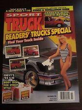 Sport Truck Magazine November 1993 Readers Trucks Special (O) (Y)