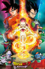 Dragon Ball Z Resurrection F- One Sheet Poster Print, 22x34