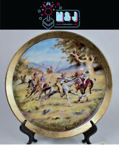 The Bradford Exchange 'Geebung Polo Club' Plate COA * RARE* (Aus Seller)
