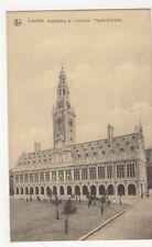 Belgium, Louvain, Bibliotheque de l'Universite Facade Principale Postcard, B274