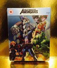 STEELBOOK Blu-ray Ultimate Avengers  [ Zavvi Limited   ] Disc Bouge