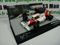 SEN1T voiture eaglemoss 1/43 F1 BRESIL Formule 1: McLaren MP4/4 A.SENNA 1988