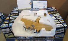 """Franklin Mint Armour 18"""" Heinkel HE III Libya Dessert CA Aircraft DieCast 1:48"""