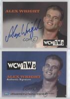 1999 Topps WCW/nWo Nitro Authentic Signatures #ALWR Alex Wright Auto Card