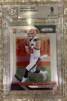 🔥🔥🔥2018 Panini Prizm #201 Baker Mayfield RC BGS 9 Rookie Browns🔥🔥🔥