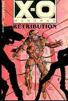 X-O MANOWAR Retribution (1993) Valiant Comics color TPB FINE