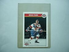 1990`S ZELLERS MASTERS OF HOCKEY NHL PHOTO BRAD PARK AUTHENTIC AUTOGRAPH AUTO