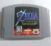 The Legend of Zelda Ocarina of Time Tested Working Condition Ninetendo 64