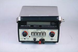 Sencore Porta-Z LC76 Portable Capacitor-Inductor Analyzer No Power Supply