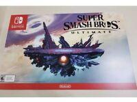 Super Smash Bros Ultimate Promotional Poster Nintendo Switch