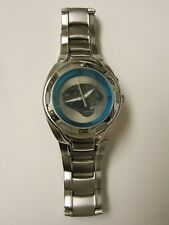 RARE MEN'S FOSSIL NFL COLLECTIBLE KALEIDO JACKSONVILLE JAGUAR LOGO WATCH PREOWN