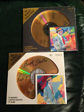 FRANK SINATRA, DUETS 1 & 2, 24 KARAT GOLD CD,  DCC NUMBERED EDITIONS AUDIOPHILE