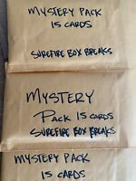 MLB, NBA, NFL Mystery Packs!!! *READ*  15 CARDS, RELICS AUTOS AND MORE!!! HOT!!!