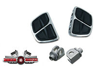 Kuryakyn Rear Kinetic Mini Floor Board & Adapter KIT Yamaha Stratoliner
