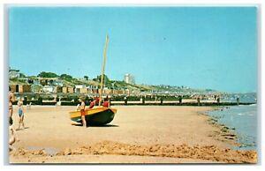 Postcard Frinton Essex The Beach