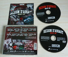 CD + DVD ALBUM BEST OF SEXION D'ASSAUT 17 TITRES 15 SUR DVD 2013 RAP FRANCAIS