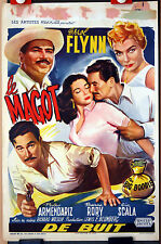 Errol Flynn : Rossana Rory : The Big Boodle : POSTER