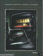 Boat Motor Brochure - Yamaha - Product Line Overview - Outboards - 1993 (SH77)