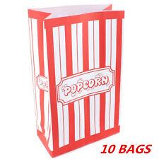 POPCORN MOVIE NIGHT CARNIVAL CIRCUS PARTY SUPPLIES PAPER BAGS KIDS BIRTHDAY WMCC