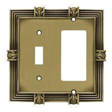 Brainerd 64476 Pineapple Single Toggle Switch/Decorator Wall Plate / Switch Plat