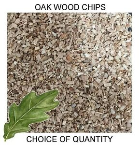 Quality Oak Wood Chips for Smoking Ovens, Oak Smoking Dust - All Sizes FAST POST