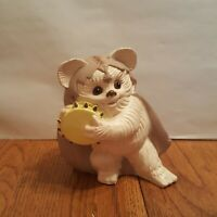 VINTAGE  EWOK KNEESAA PLASTIC COIN BANK 1983 STAR WARS RETURN JEDI