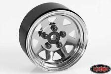 RC4WD 5 Lug Wagon 1.9 Single Steel Stamped Beadlock Wheel (Chrome) Z-Q0040