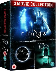 """THE RING TRILOGY THE RING THE RING 2 RINGS 3 DISC DVD BOX SET R4 """"NEW&SEALED"""""""