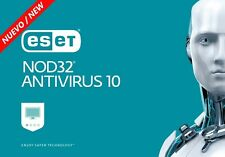 ESET NOD32 Antivirus 2017. Version 10. || 1 Pc - 1 Año || 1 Pc - 1 Year ||