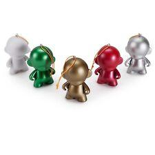 Kidrobot Munny World DIY Ornaments 5 Figure Set NEW Holiday Art