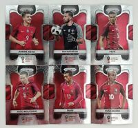2018 Panini Prizm World Cup Soccer Portugal Team - Pick Your Card