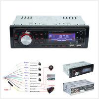 1Din Car Truck Bluetooth Radio Stereo Audio MP3 Player Handsfree Dual USB+Remote
