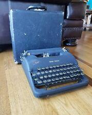 Vintage Smith Corona Clipper Floating Shift Typewriter & Case 1940's 4C194941