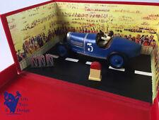 Véhicules miniatures en métal blanc pour Bugatti