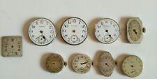 Reloj de Pulsera Waltham EE. UU. - Lote de 8 Reloj movimientos-Vintage Antiguo