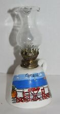Aiyaio Greece Island Beach Ocean Oil Lamp Italy Ceramic Collectors