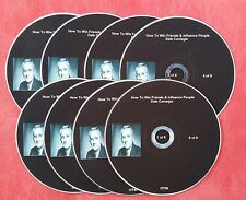 DALE CARNEGIE HOW TO WIN FRIENDS AND INFLUENCE PEOPLE 8 CD's AUDIO BOOK