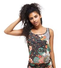 Adidas Originals Jardim Aghata tank top UK 14. Medium 40 Trefoil Floral Vest Gym