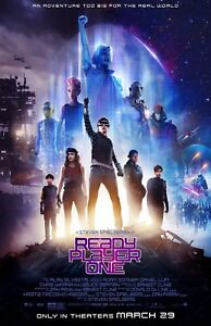 """Ready Player One movie poster (b)  - 11"""" x 17"""""""