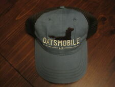Bell's Oatsmobile Hat Brewing Kalamazoo NEW Adjustable Mesh Back