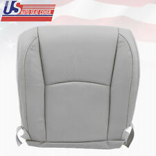 Fits 2008 Lexus RX350 RX400 Driver Bottom Replacement Leather Seat Cover Gray
