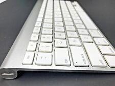 Apple A1314 MC184LL/B Bluetooth Wireless Silver Slim Keyboard
